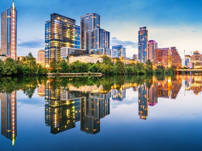 In 2017, Austin, Texas is ranked as the greenest city in America.