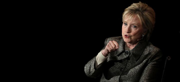 Former Secretary of State Hillary Clinton spokeabout her postelection life Tuesday.