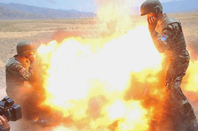 Combat Photographer Captured Her Final Moments In This Stunning