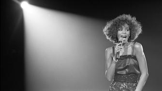 Whitney Houston in WHITNEY 'CAN I BE ME.' Photo by David Corio.