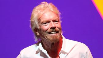 MIAMI BEACH, FL - OCTOBER 18:  Sir Richard Branson Press Conference  at Faena Hotel on October 18, 2016 in Miami Beach, Florida.  (Photo by Aaron Davidson/Getty Images)