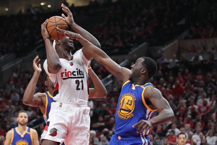 Draymond Green's defensive versatility has once again been magnificent in the playoffs.