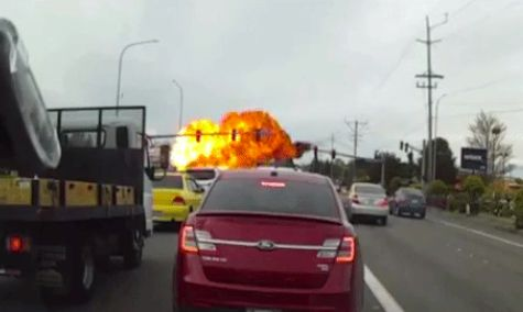 This Dashcam Video Of A Plane Crash Is Right Out Of A