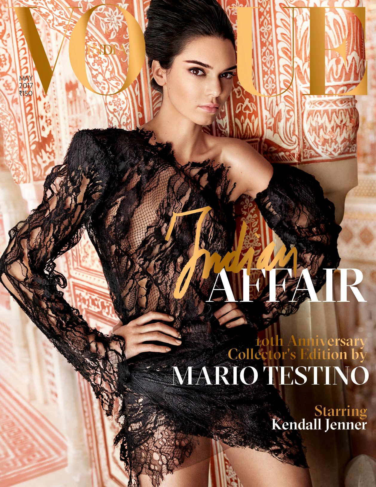Kendall Jenner Collaborates With Mario Testino For Vogue India And The Photos Are