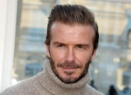 David Beckham's Birthday Meal Consisted Of A Very Bizarre Take On Gammon, Egg And Chips
