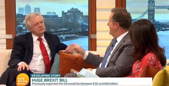 David Davis on Good Morning Britain earlier