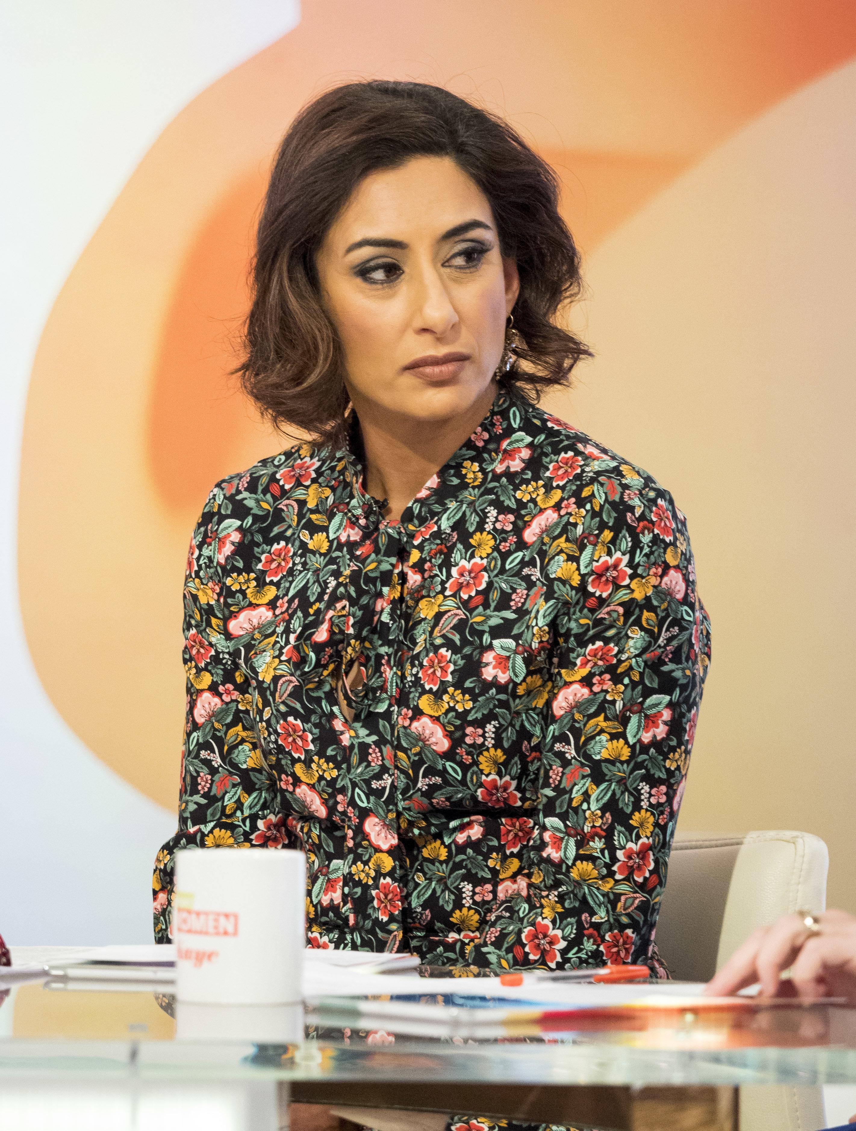 Saira Khan Takes On Critics Who Said 'Loose Women' Photo-Shoot Makes Her A 'Bad
