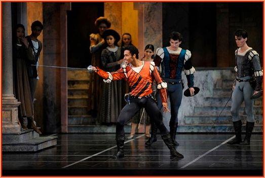 Daniel Deivison-Oliveira as Tybalt in Tomasson's <em>Romeo & Juliet</em>