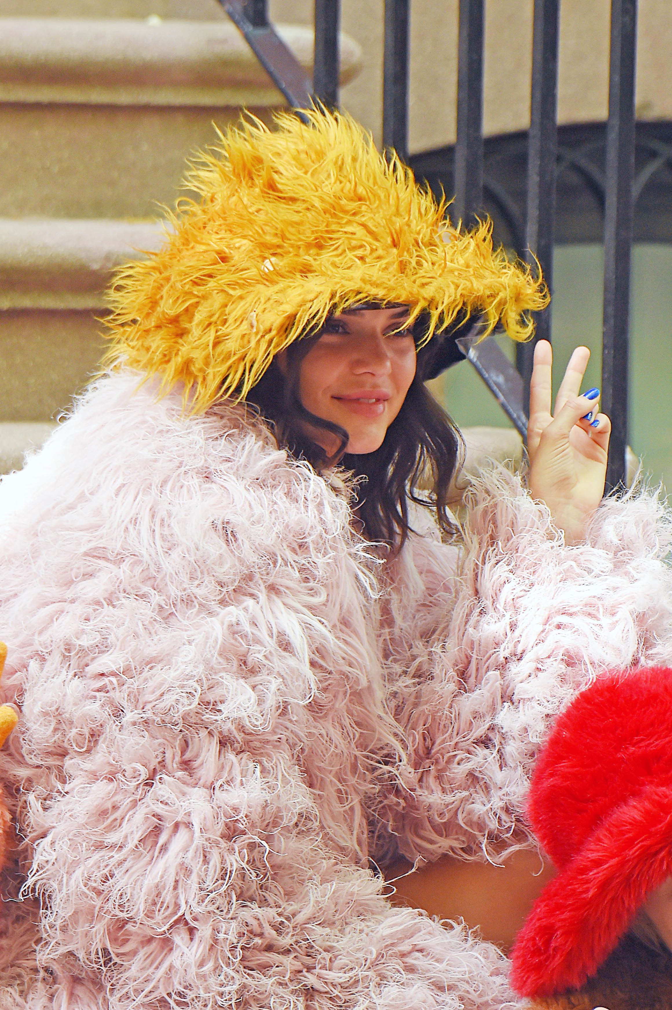 Kendall Jenner Lives Our Childhood Dreams As She Strikes A Pose With The