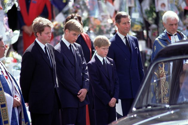 It is 20 years since the young royals lost their