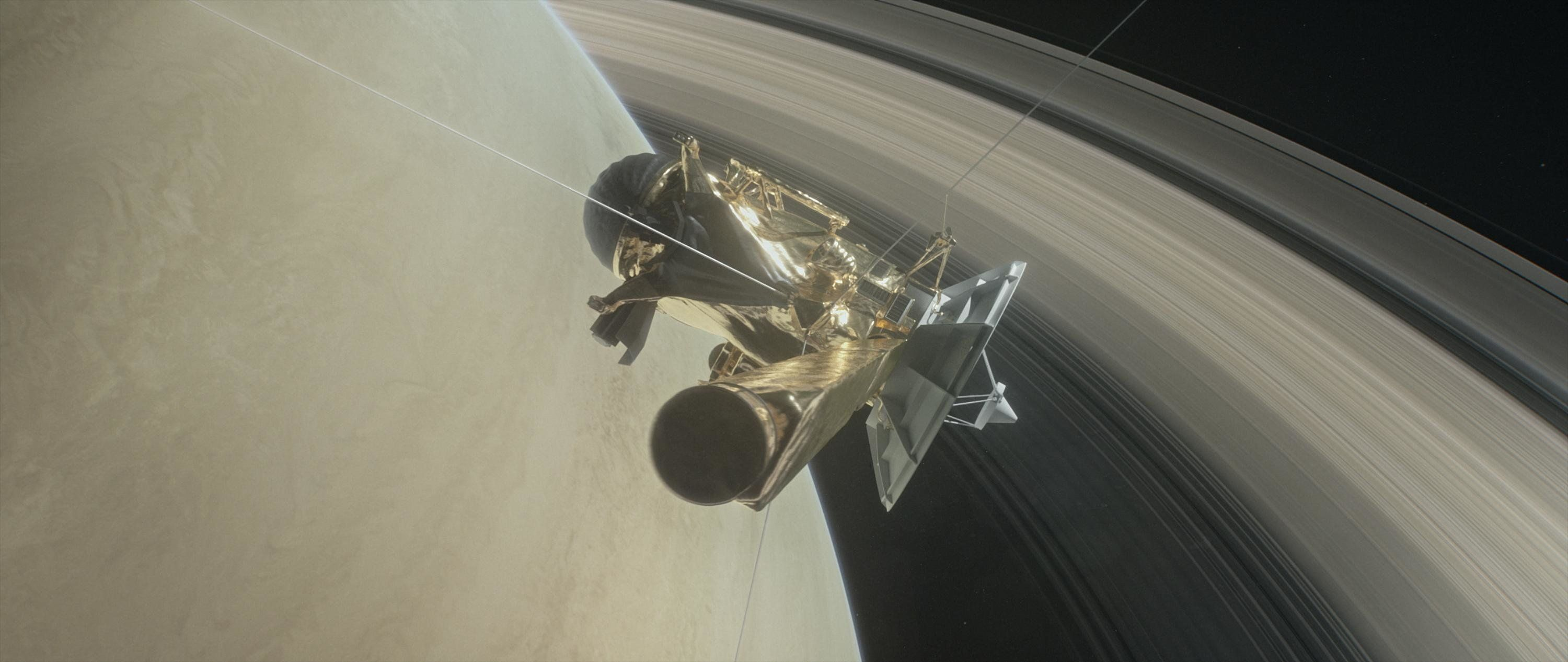 Listen To The Eerie Sound Of The Giant Void Between Saturn And Its