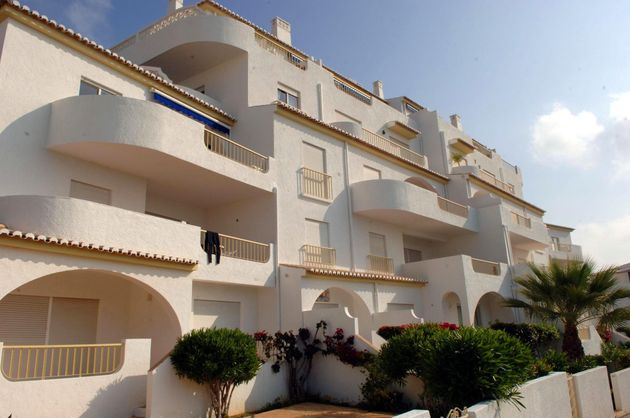 A view of the of the apartments at the Ocean Club in Luz in the Algarve where Madeleine McCann went