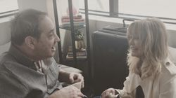 Amy Schumer's Dad Cries When He Meets Idol Goldie