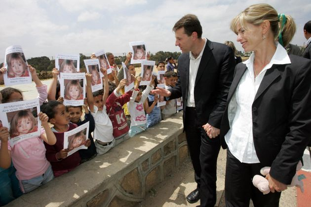 Kate and Gerry McCann travelled to Morocco to appeal for information about