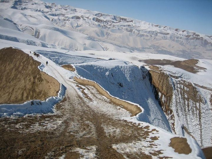 The Rugged Afghan Terrain