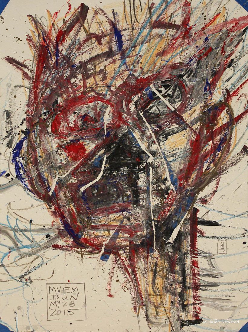 Jason Newsted, <em>Self Portrait 52</em>