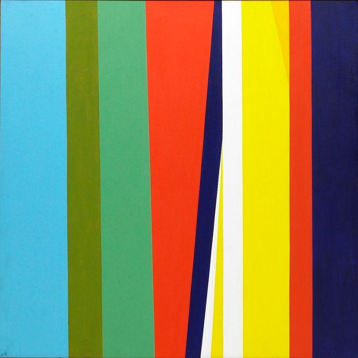 <p>Jay Rosenblum, <em>Untitled</em>, 1969, Oil on canvas, 40 x 60 in. </p>