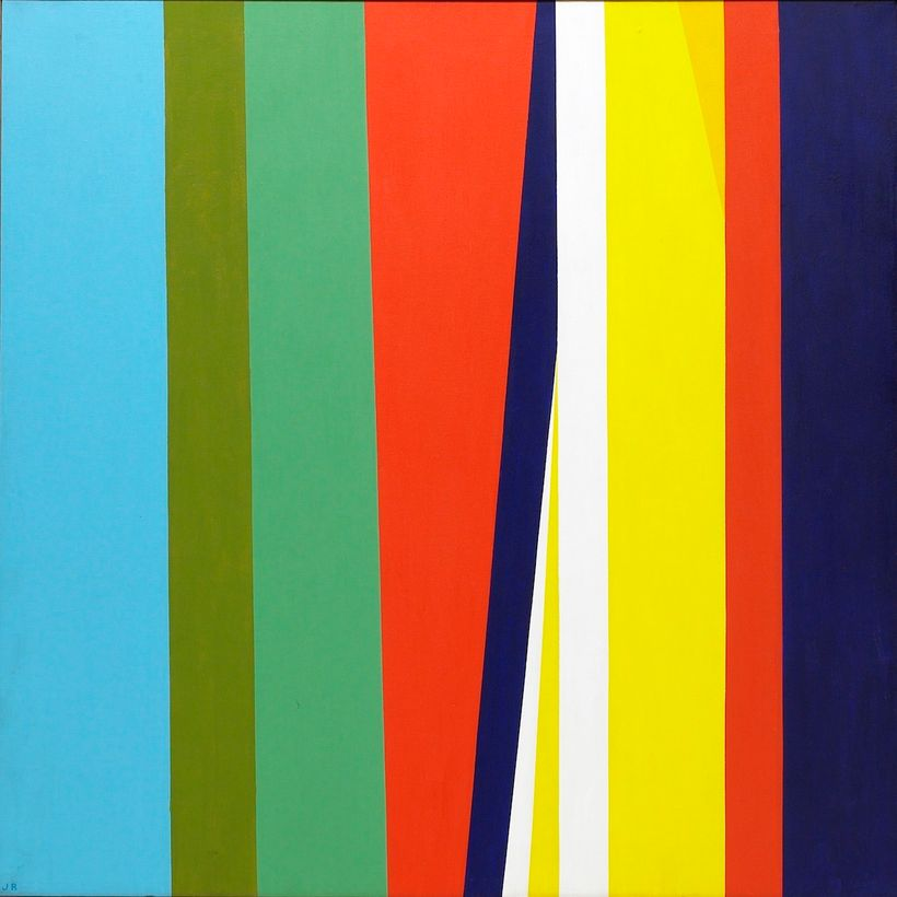 Jay Rosenblum, <em>Untitled</em>, 1969, Oil on canvas, 40 x 60 in.