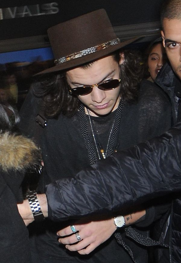 Too cool for school at LAX in January 2015.