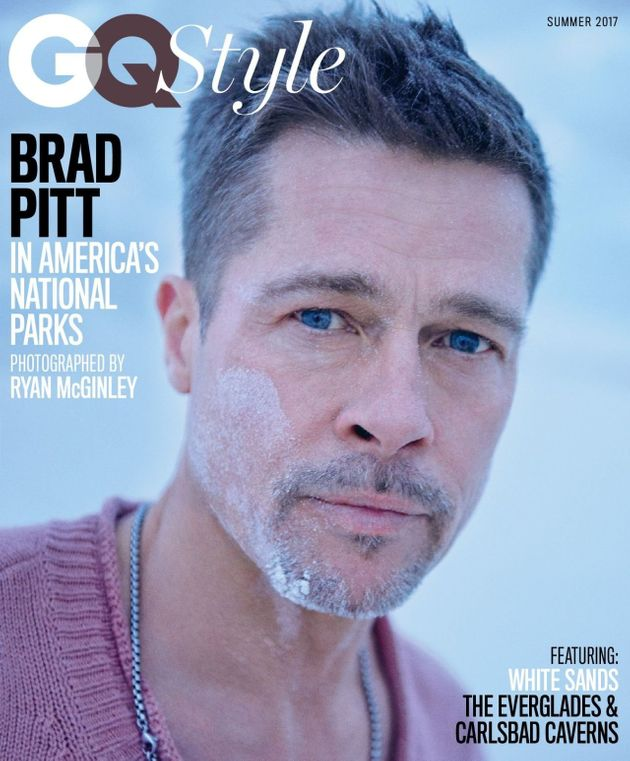 Brad Pitt Is GQ's Triple Cover Star As He Reveals He's Started Therapy And Quit Boozing In First Interview...
