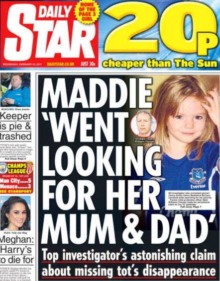 Some have suggested Madeleine may have wandered off by