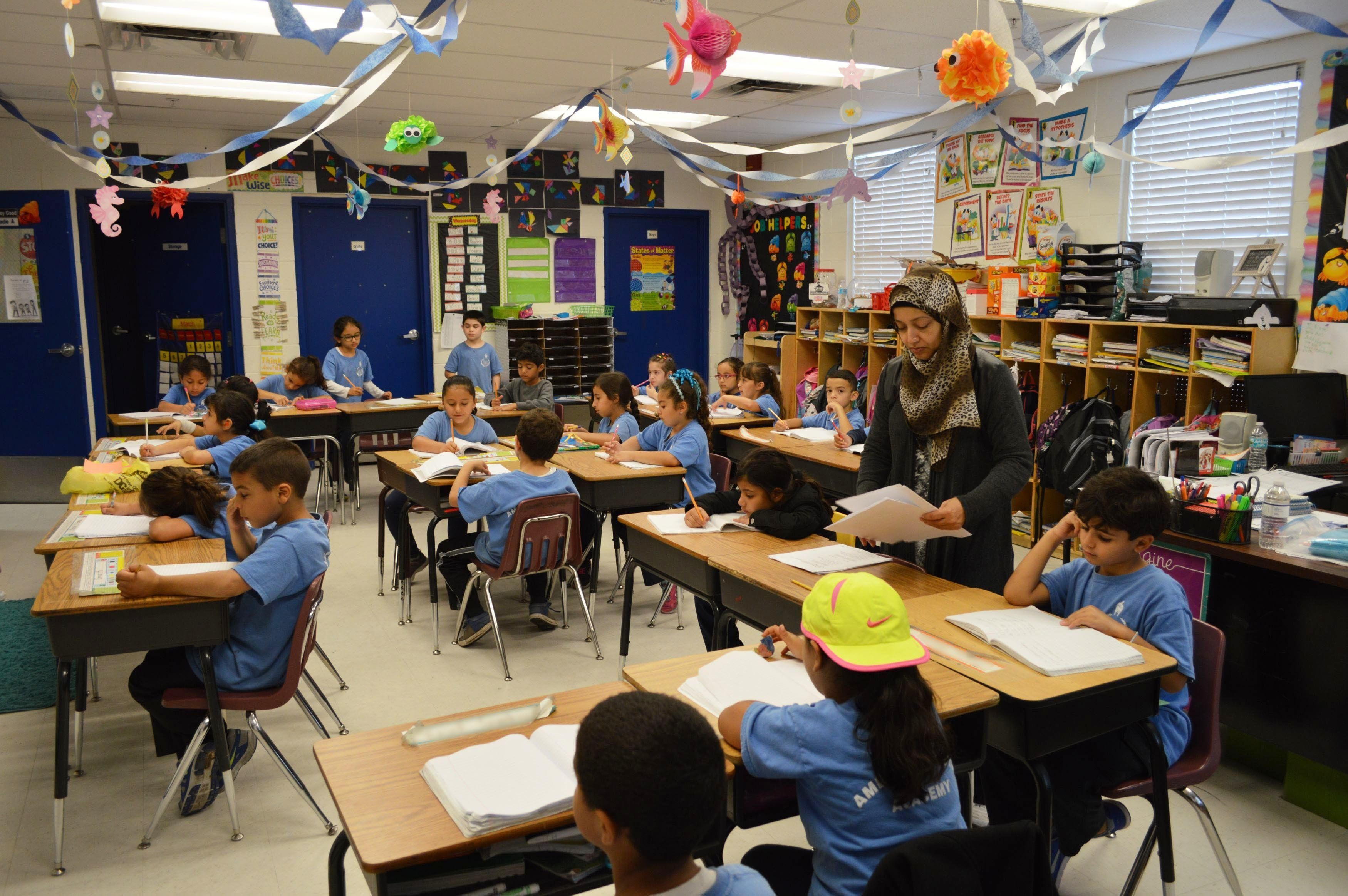 Children don't have to worry about anti-Muslim bullyingatthe American Youth Academy in Tampa, Florida.