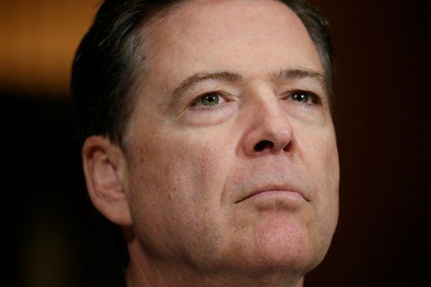 FBI Director James Comey testifiesbefore a Senate Judiciary Committee hearing on May 3,