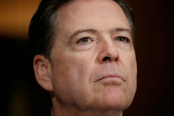 FBI Director James Comey testifiesbefore a Senate Judiciary Committee hearing on May 3, 2017.