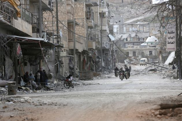 Syria, in fairness, has some other things to deal with beyond cutting its greenhouse gas