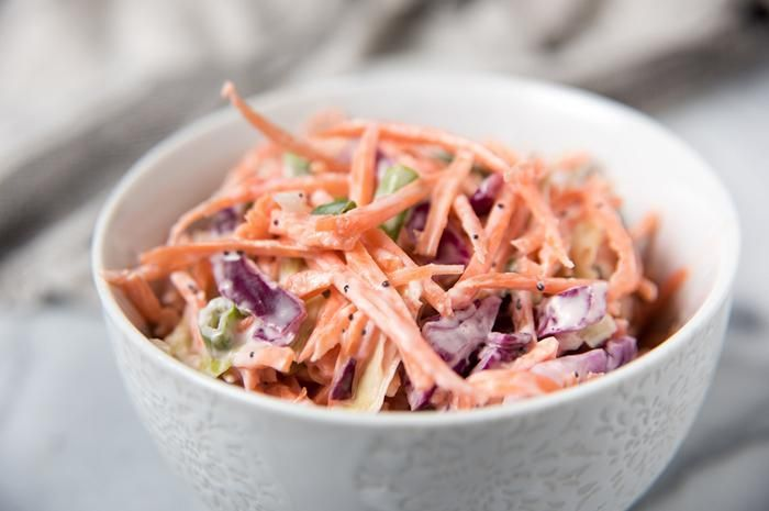 <strong>Coleslaw salad</strong>
