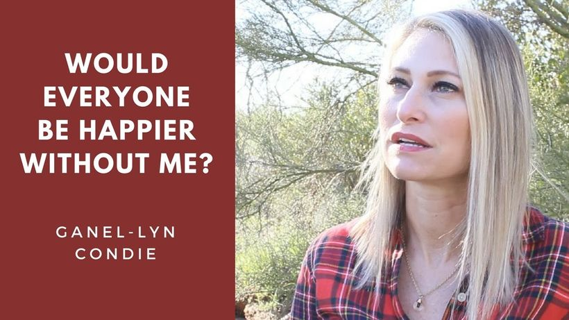 """Author and speaker, Ganel-Lyn Condie, talks about her sister's suicide and answers the question: """"Would everyone be happier w"""