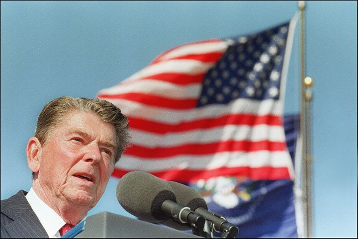 Former President Ronald Reagan was paid $2 million by a Japanese firm for two speeches he gave after leaving o