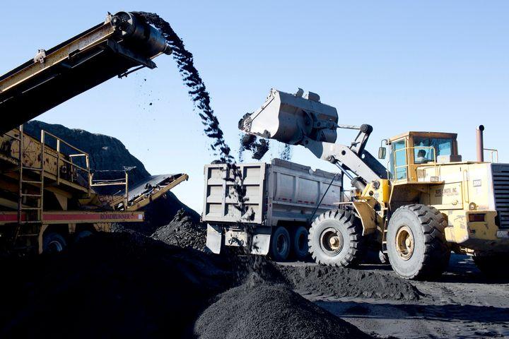 A coal mine in Pennsylvania, late 2016.