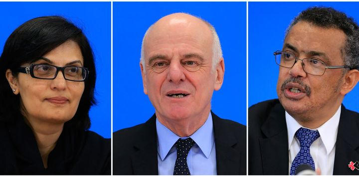 Sania Nishtar, David Nabarro and Tedros Adhanom Ghebreyesus are the final three candidates.