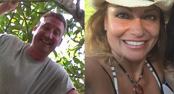Drew DeVoursney, 36, and Francesca Matus, 52, were found dead in Belize on Monday.