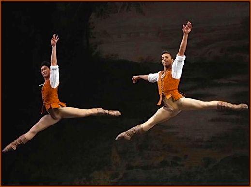 Hansuke Yamamoto and Daniel Deivison-Oliveira in Tomasson's <em>Giselle</em>
