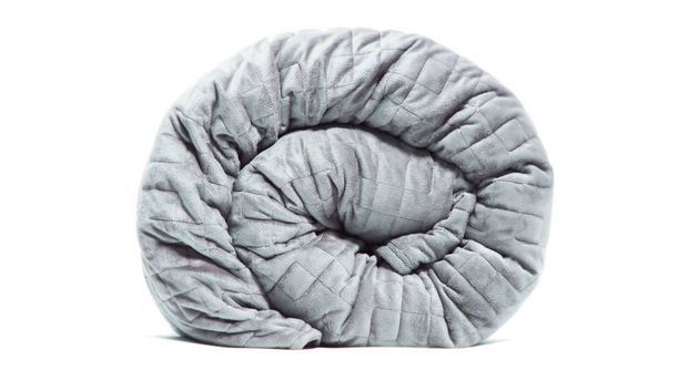 This 25 Pound Blanket Could Help You Sleep Through The Night