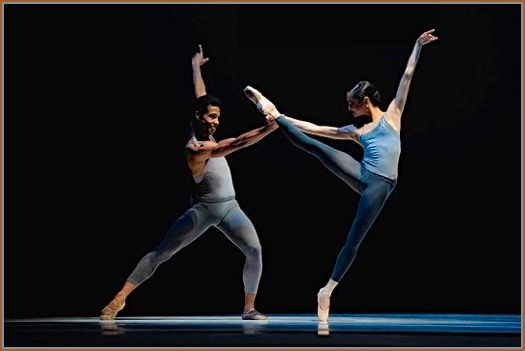 Daniel Deivison-Oliveira and Mathilde Froustey in Tomasson's <em>The Fifth Season</em>