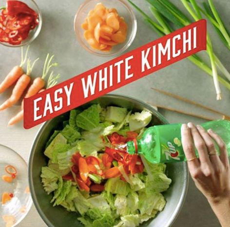 7Up Soda Gives The World A Kimchi Recipe And Debate