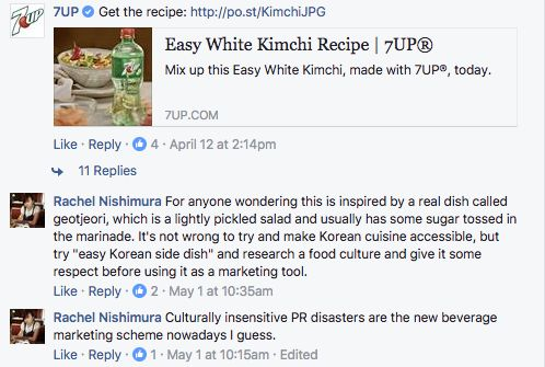 Rachel Nishimura, who's South Korean Japanese American, grew up eating her mom's homemade kimchi. She found 7Up's recipe