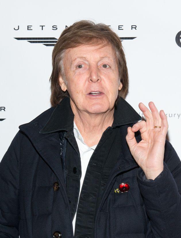 Former Beatles singer Paul McCartney is the highest-earning Brit in
