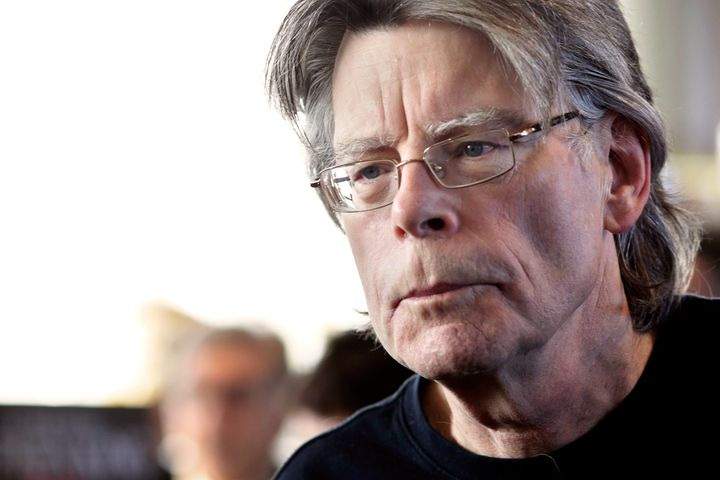Author Stephen King says President Trump is scarier than anything he's ever created.