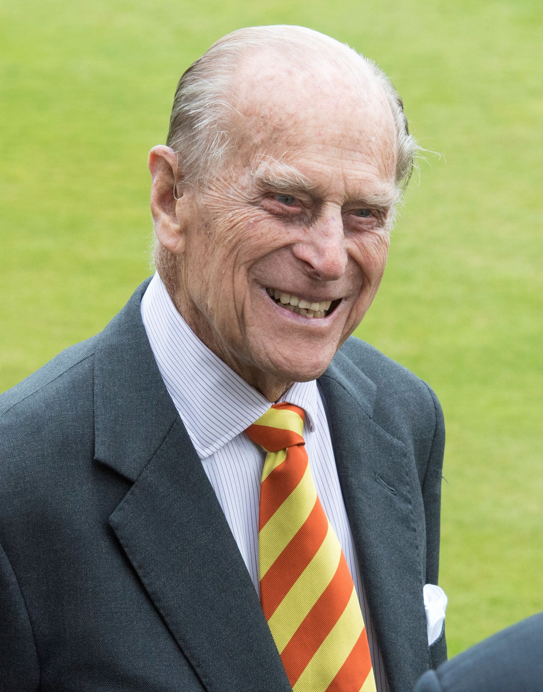 Britain's Prince Philip visits Lord's Cricket Ground where he opened the new Warner Stand, in London, May 3, 2017. REUTERS/Arthur Edwards/Pool
