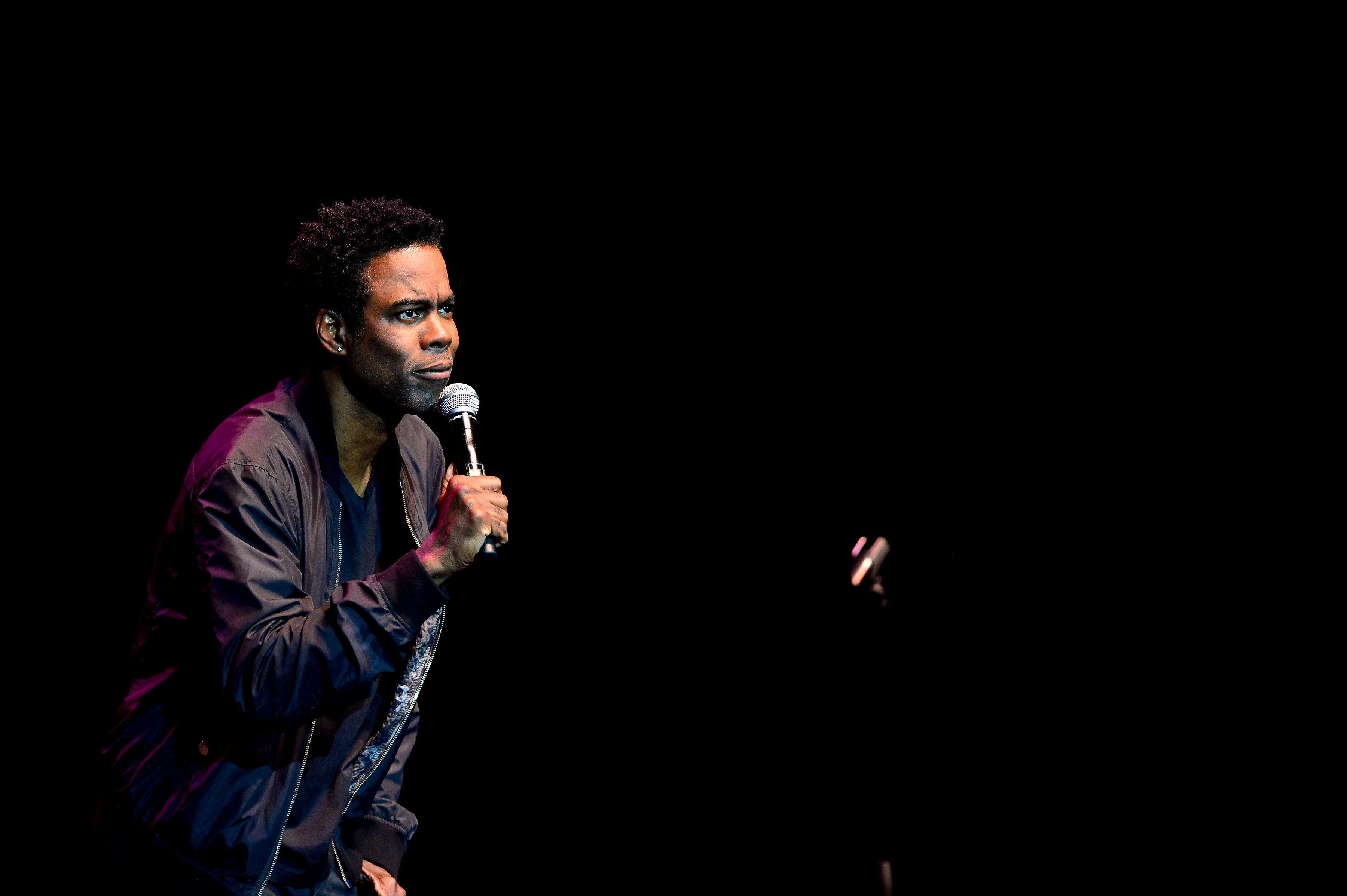 HOLLYWOOD, FL - MARCH 29:  Chris Rock preforms at Hard Rock Live at Seminole Hard Rock Hotel & Casino  Hollywood on March 29, 2017 in Hollywood, Florida.  (Photo by Johnny Louis/FilmMagic)