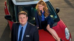 Sian Gibson Says She And 'Car Share' Co-Star Peter Kay Have 'Something In The