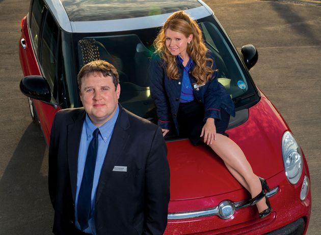 Peter and Sian in 'Car