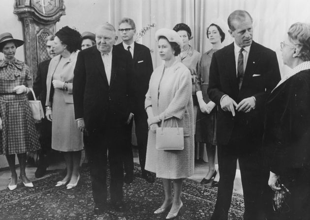 The Queen and Prince Philipat the Chancellery, Germany, May 21st
