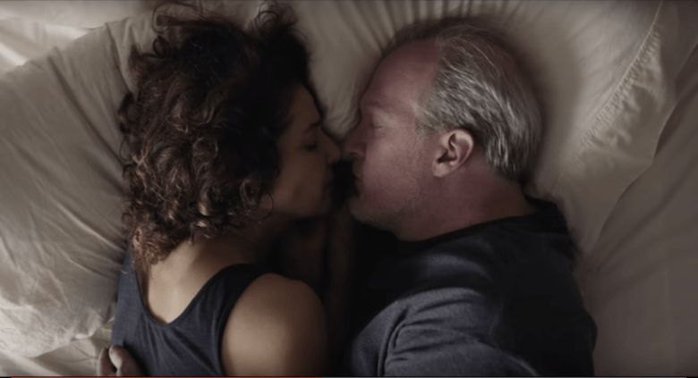 <em>Debra Winger and Tracy Letts play cheating middle aged spouses in a convoluted route at turns hilarious and agonizing on