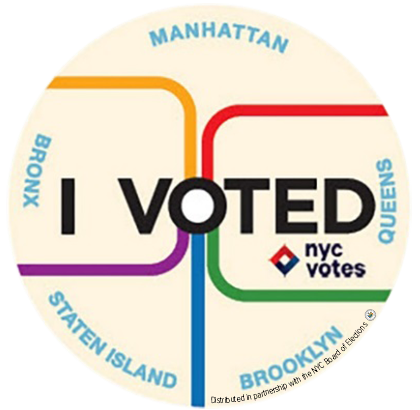 """All the people of the boroughs meet together, pass each other, need each other in the subway and the voting booth."" -<a href"
