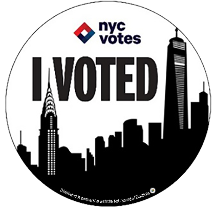 """Your City Needs You To Vote. Be Heard. Make It Count."" -<a href=""https://djbnyc.info/portfolio.html"" target=""_blank"">Dani Be"